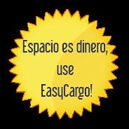 Espacio es dinero, use EasyCargo!