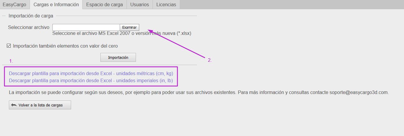 ¿Cómo importar elementos desde un archivo Excel?