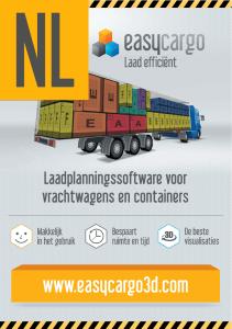 EasyCargo Leaflet A4 NL